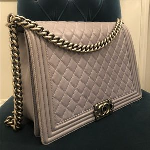 CHANEL Bags - Chanel Large Le Boy Bag